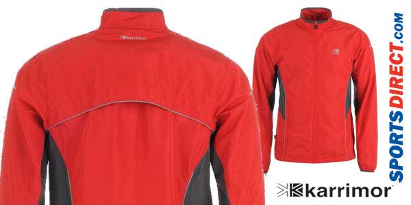 Chaqueta de running Karrimor Running para hombre en varios colores chollazo en Sports-Direct
