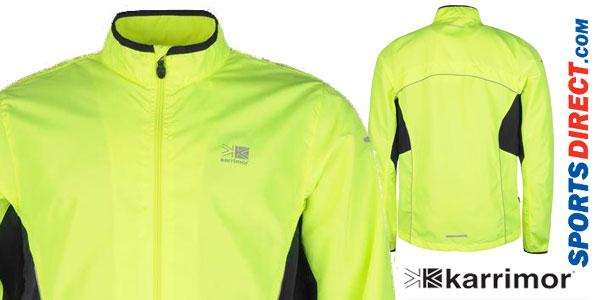 Chaqueta de running Karrimor Running para hombre en varios colores chollo en Sports-Direct