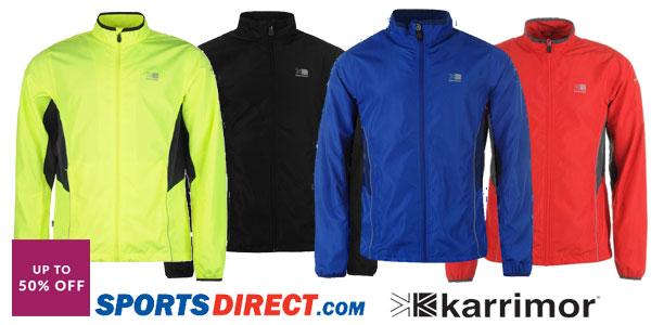 Chaqueta de running Karrimor Running para hombre en varios colores barata en Sports-Direct
