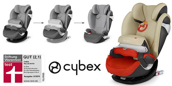 Cybex Pallas M-Fix sillita de coche del grupo 1/2/3 barata