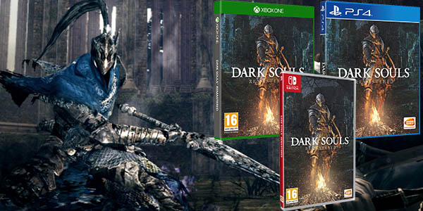 Dark Souls Remastered para Nintendo Switch, PS4 y Xbox One