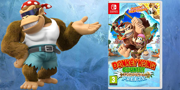 Donkey Kong Country: Tropical Freeze para Nintendo Switch