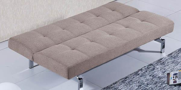 Duehome sofá-cama chic fácil de abrir asiento acolchado barato