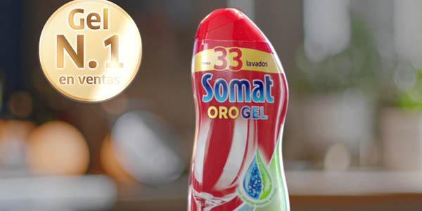 Chollazo Pack X4 Lavavajillas Somat Oro De 50 Dosis Por Sólo 23 40 38 5 85 La Botella