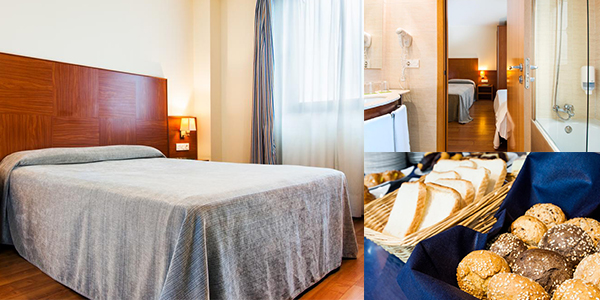 Hotel NH Noain Pamplona precio brutal