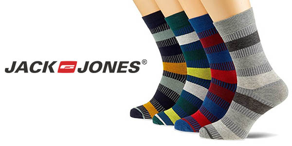 Jack & Jones Jacorder calcetines a rayas baratos