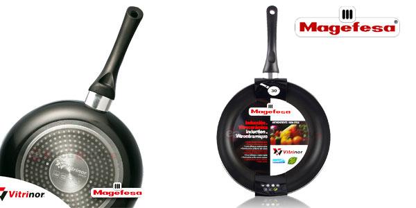 Juego de 3 sartenes Magefesa Vitrinor aptas para todo tipo de cocinas chollazo en eBay