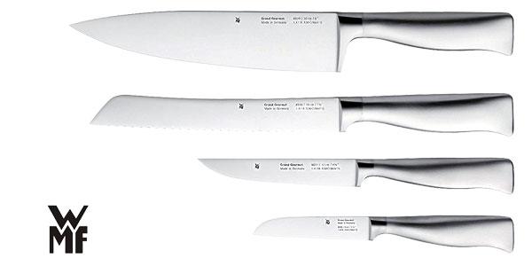 Set de cuchillos WMF Grand Gourmet con base metálica chollo en Amazon