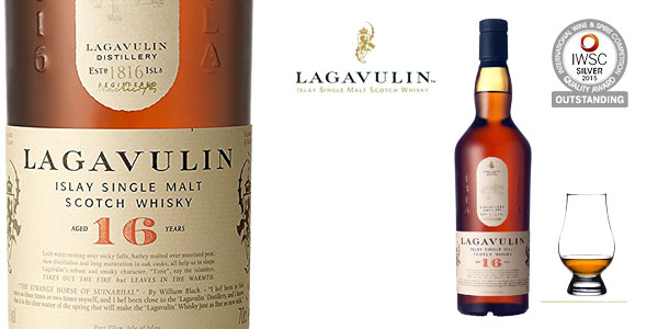 Lagavulin 16 años Whisky Escocés - 700 ml chollazo en Amazon