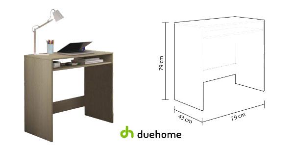 Mesa de escritorio juvenil Oak de Duehome en color roble chollo en eBay