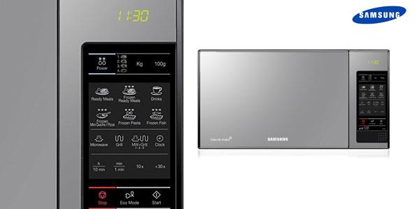 Microondas Samsung GE83X de 23 litros con grill chollazo en Amazon