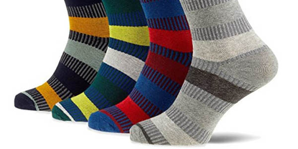 pack 4 pares de calcetines Jack & Jones en colores a precio de chollo
