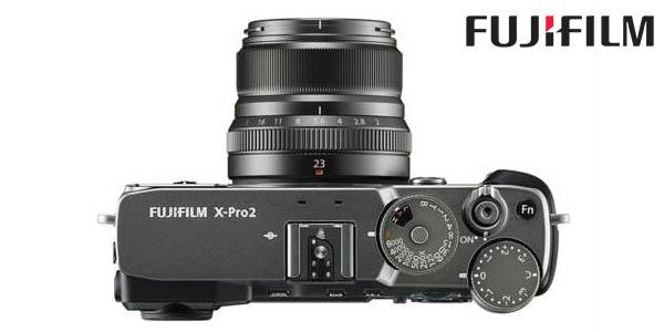 Fujifilm X-Pro2 de 24,3 MP con objetivo XF 23 mm barata