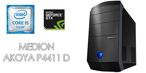 PC Gaming Medion Akoya P4411 D