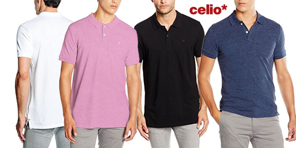 Polos Celio en varios colores para hombre baratos en Amazon