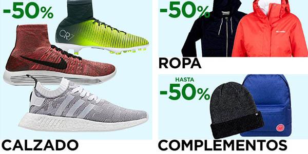 ropa y calzado running de primeras marcas con tique regalo El Corte Inglés