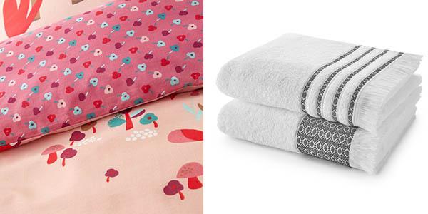 sábanas, fundas nórdicas, cortinas, mantelería y toallas baratas en La Redoute