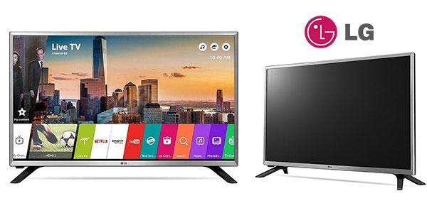 Smart TV LG 32LJ590U de 32 pulgadas con Virtual Surround Plus barata