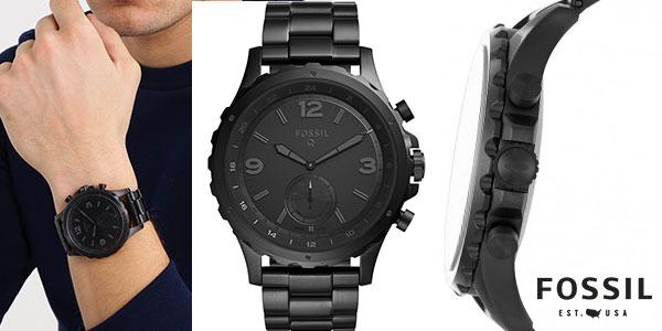 Smartwatch Fossil Q Nate HybridFTW1115 para hombre barato