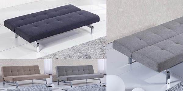 sofá-cama Duehome Chic con sistema de clic clac en oferta