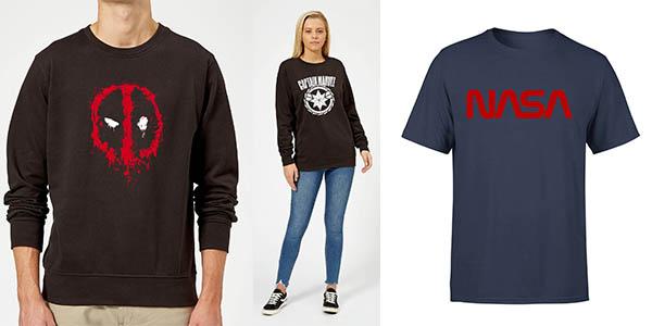 sudaderas y camisetas de Marvel y series de televisión chollos Zavvi