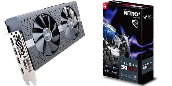AMD Radeon Sapphire RX580 Nitro+ OC 4GB GDDR5