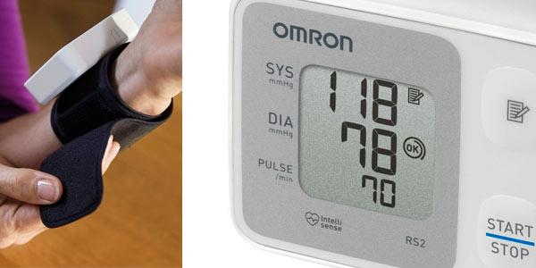 Tensiómetro de muñeca Omron RS2 a buen precio en Amazon