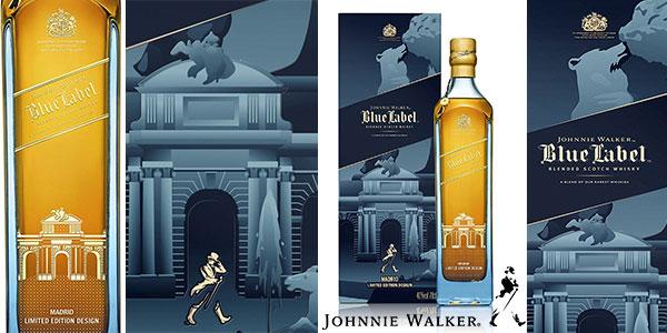 Whisky Johnnie Walker Blue Label de 700 ml Edición Limitada Madrid al mejor precio