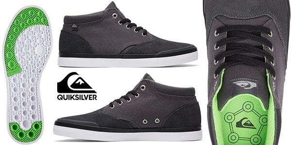 Zapatillas abotinadas Quiksilver Verant de estilo casual y color gris baratas