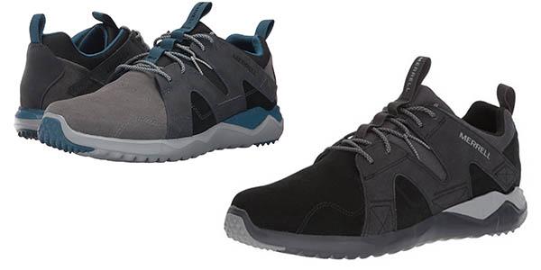 zapatillas de cuero Merrell 1SIX8 LTR ligeras en oferta