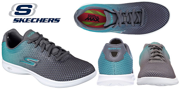 Zapatillas deportivas Skechers Go Step Lite-Interstellar para mujer baratas