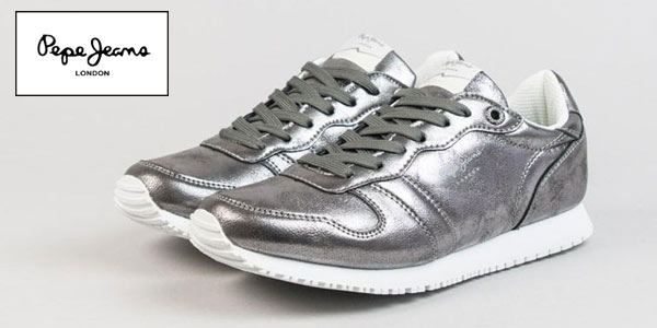 Zapatillas Pepe Jeans LPS metalizadas baratas en Ulanka