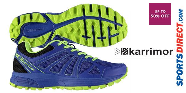 Zapatillas de running Karrimor Caracal para hombre chollazo en Sports-Direct