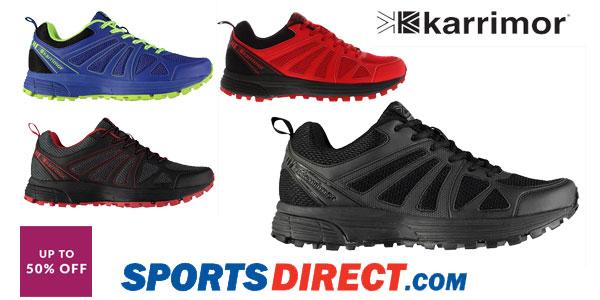 Zapatillas de running Karrimor Caracal para hombre baratas en Sports-Direct