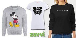 Zavvi promoción camiseta y sudadera geek febrero 2020