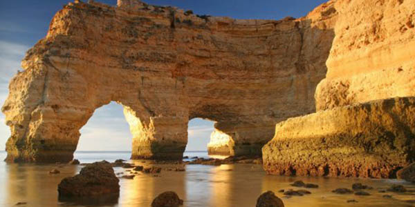 Algarve Portugal viaje corto low cost