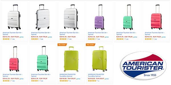 American Tourister promoción en maletas rebajadas