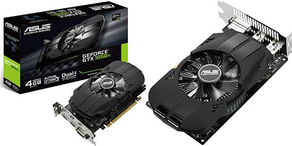 ASUS GeForce GTX 1050 TI 4G en Worten