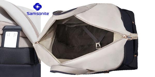 Bolsa de viaje Samsonite Uplite Duffle de 68,5 litros y 55 cm apta para cabina chollo en Amazon