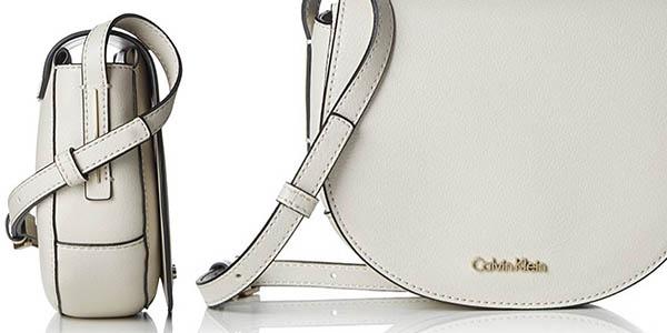 bolso bandolera para mujer Calvin Klein en imitación de piel a precio de chollo