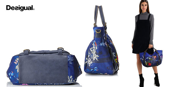 Bolso Shopping Desigual Birdpalm Rotterdam chollo en Amazon