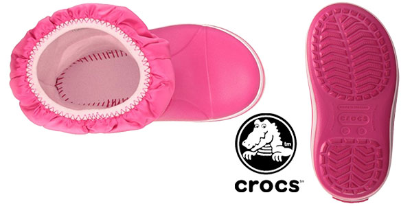 Botas unisex Crocs Winter Puff Boot Kid para niños chollazo en Amazon