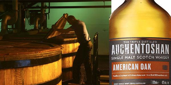 Botella Auchentoshan American Oak Whisky de 700 ml chollazo en Amazon