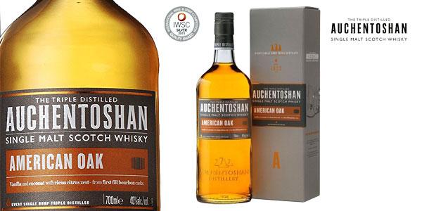 Botella Auchentoshan American Oak Whisky de 700 ml barato en Amazon