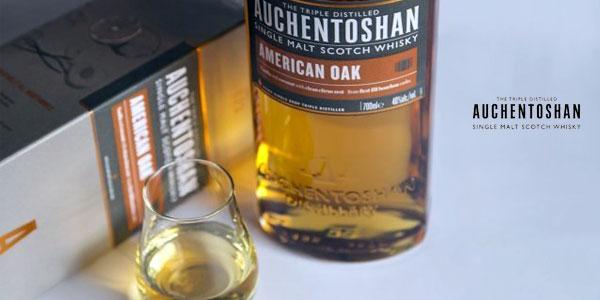 Botella Auchentoshan American Oak Whisky de 700 ml chollo en Amazon