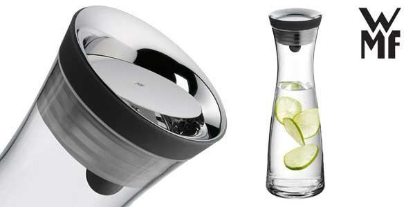 Botella de agua de cristal WMF con tapa y colador, 1,5L barata en Amazon