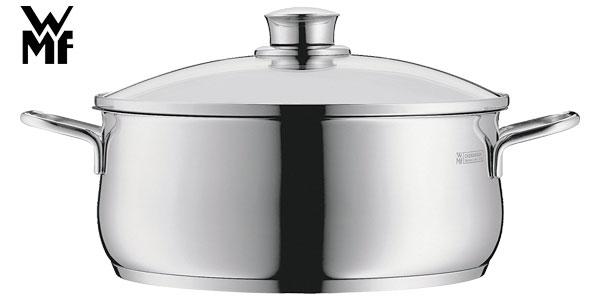 Cacerola con tapa WMF Diadem Plus de 20cm de diámetro y 3 litros en acero inoxidable barata en Amazon