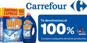 100% Acumulación ChequeAhorro Carrefour