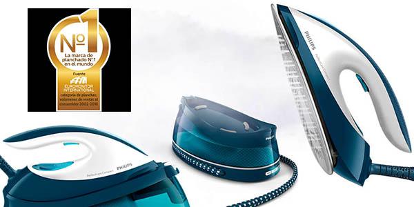 centro de planchado Philips GC7831/20 de tamaño compacto y fácil uso con salida de vapor potente a precio de chollo