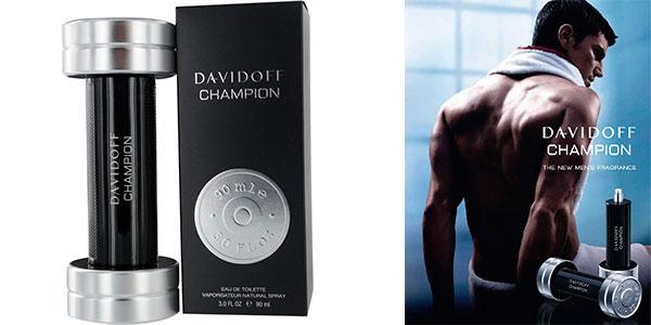 Chollo Agua de tocador Davidoff Champion en vaporizador de 90 ml para hombre
